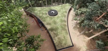 'Geen entree bezoekerscentrum oorlogskerkhoven'