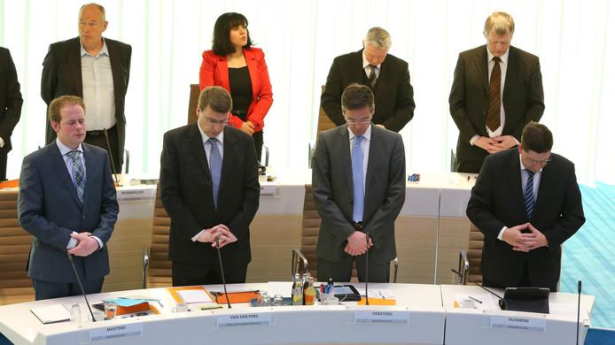 Edese gemeenteraadsleden van de SGP  in 2013.