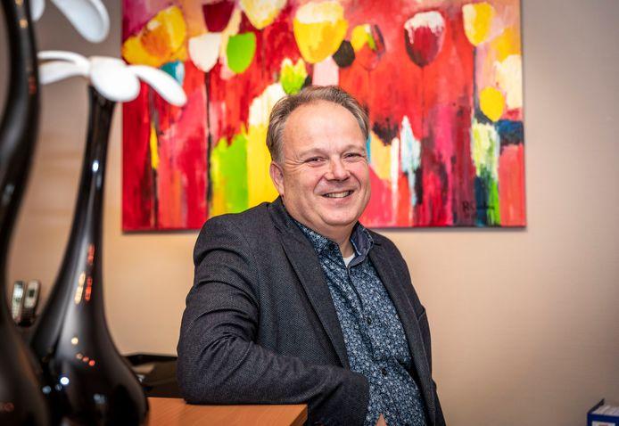 Serge van de Brug, de nieuwe VVD-wethouder in Helmond.
