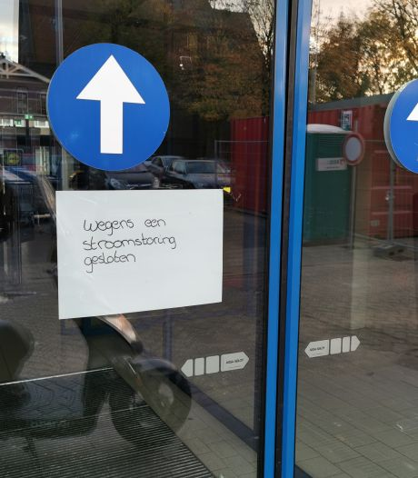 Alarms van winkels gingen af en verkeerslichten werkten niet door stroomstoring in Wageningen
