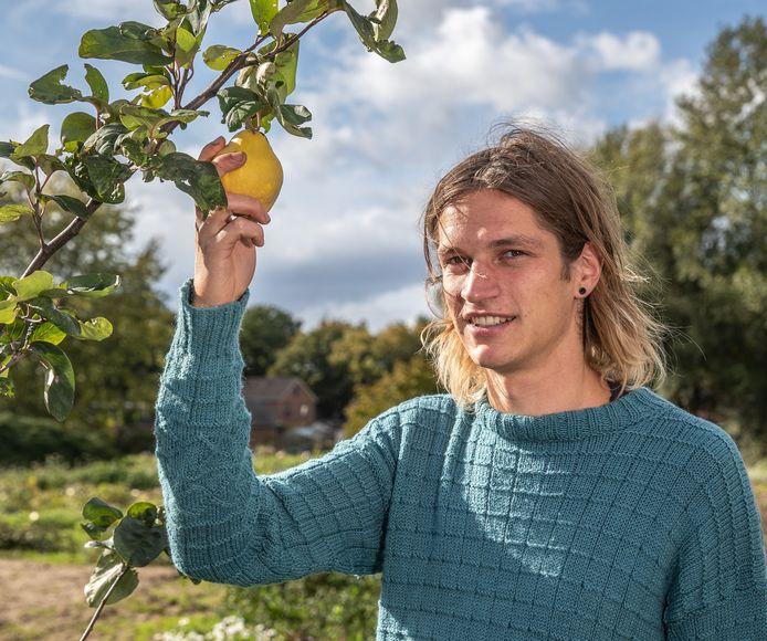 Otto Veerman is de de drijvende kracht achter het plan voor een voedselbos.