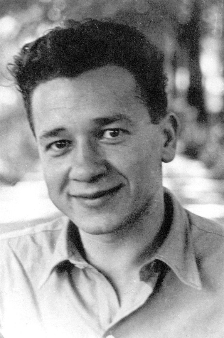 De Poolse schrijver Tadeusz Borowoski Beeld Frank Castelein