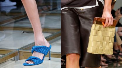 Deze schoenen en tassen van Bottega Veneta worden nu al getipt als dé accessoires voor volgend voorjaar