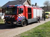 Man lichtgewond na brand in achtertuin in Geffen