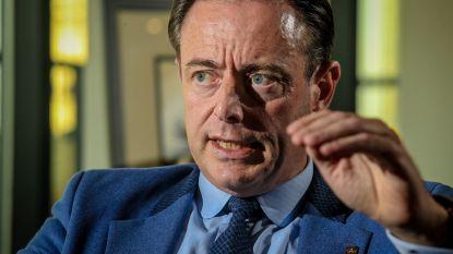 """De Wever: """"Ik chanteer niemand, geef enkel standpunt van N-VA weer"""""""