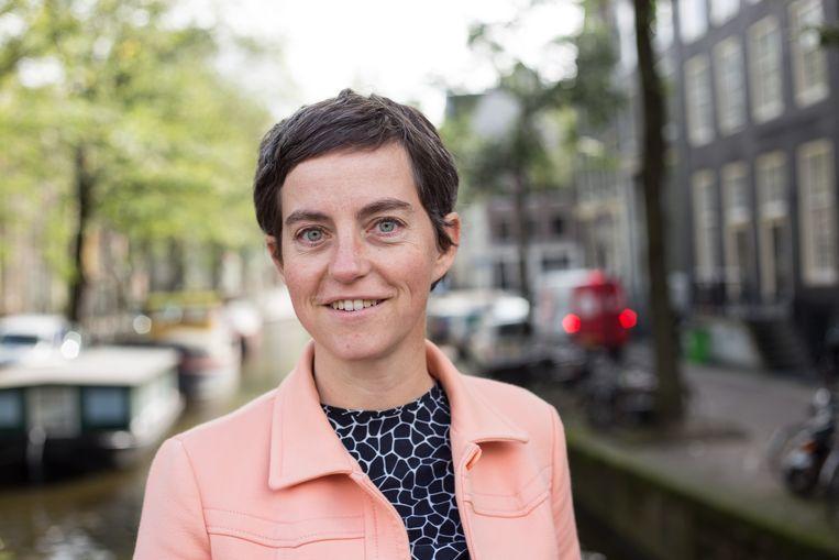 Universitair hoofddocent aan de UvA Danielle van den Heuvel geeft sinds 2016 leiding aan het project Freedom of the Streets. Beeld Anne Posthuma