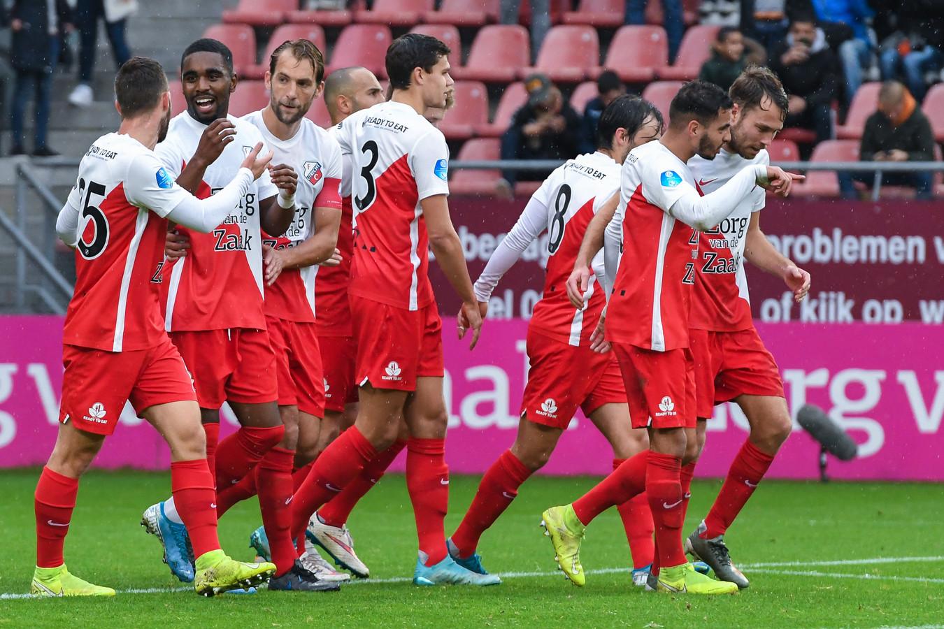 De spelers van FC Utrecht tankten vorig weekend vertrouwen met een 6-0 thuiszege op Fortuna Sittard.