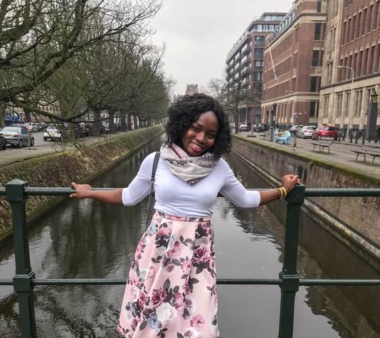 Emmanuella Kwamee uit Ghana