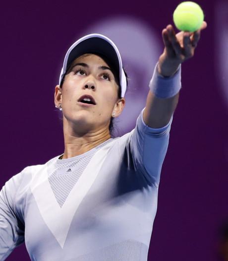 Muguruza stippelt route naar titelprolongatie op Wimbledon uit