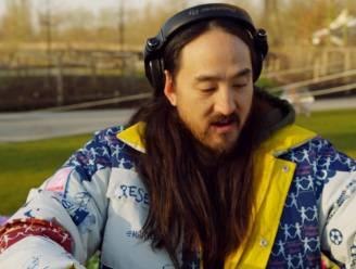 VIDEO. Steve Aoki opent radiostation van Tomorrowland met dj-set in Boom