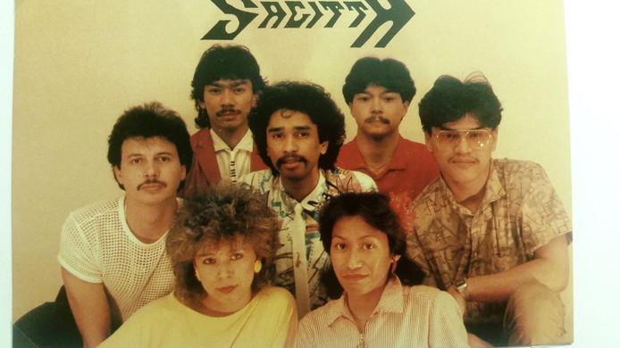 De Almelose band Sagitta, vooral actief in de jaren 70 en 80