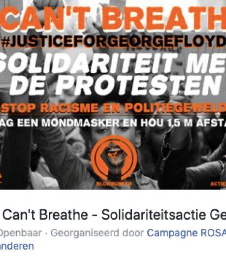 """Betoging tegen politiegeweld op Sint-Pietersplein, zonder toestemming: """"Wie deelneemt riskeert een boete"""""""