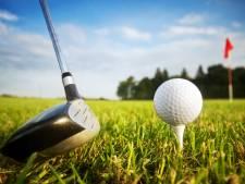 Bakelse golfbaan in de min