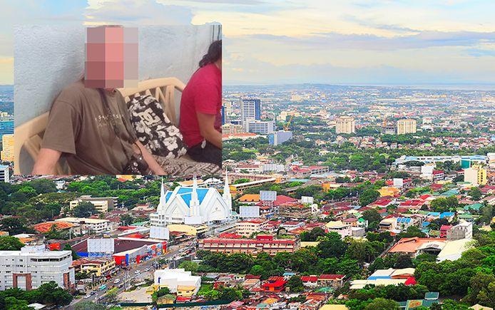 De man werd opgepakt aan een busstation in de Filipijnse stad Cebu. Hij wordt beschuldigd van poging tot kinderontvoering.