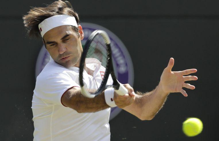 Roger Federer. Beeld