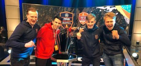 Speler Ollelito van Team Gullit wint groot FIFA-toernooi en 45.000 euro