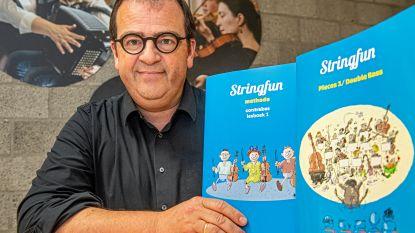 STAP-directeur presenteert nieuwe vioolmethode in muziekboekjes