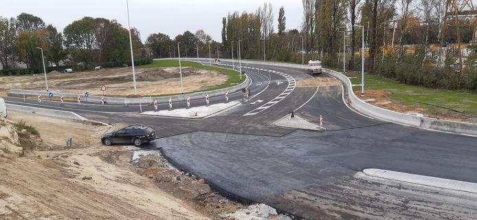De afrit Zwijndrecht zal al deels worden opengesteld voor verkeer dat van de E34 komt.