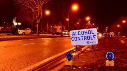 Alcoholcontroles waren aangekondigd, toch vier bestuurders gepakt