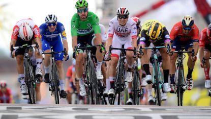 """Philipsen sprint naar knappe vijfde plaats: """"Ik ging zo hard ik kon"""""""