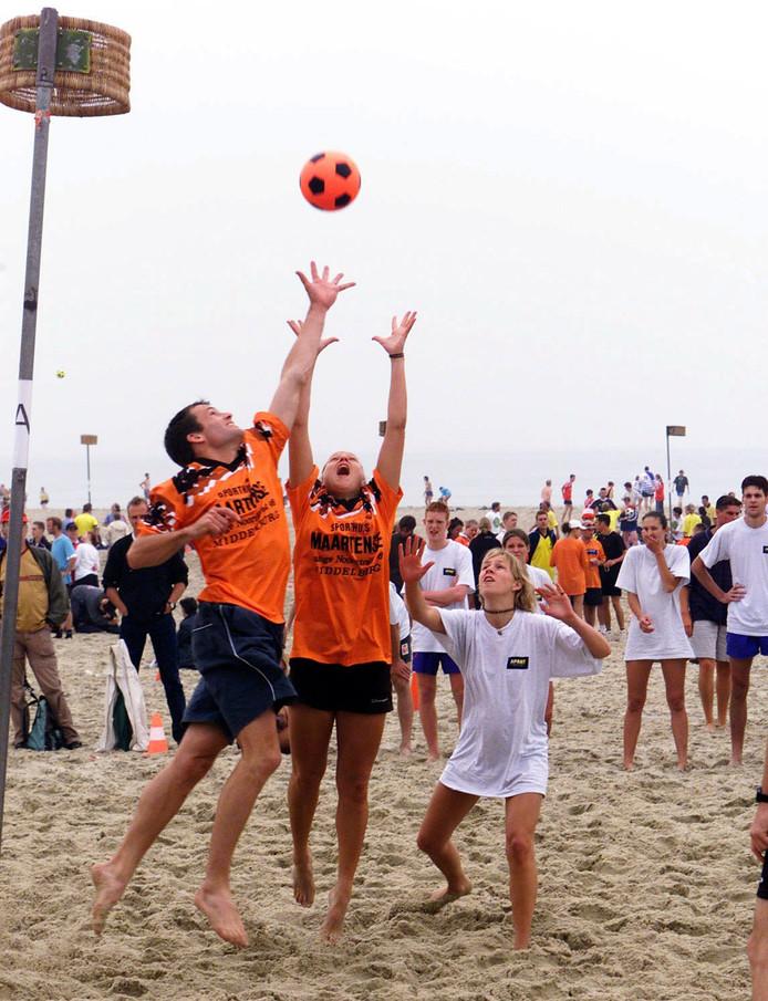 NKC'51 wil inspelen op de nieuwe trend: beachkorfbal.