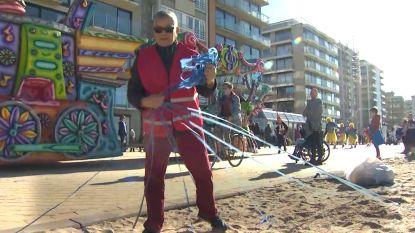 Ongelukkig toeval in De Panne: opruimactie valt samen met carnaval, confetti belandt opnieuw op strand