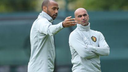 """Ligt er nog een toekomst bij de Rode Duivels voor Thierry Henry? Martínez: """"Zou niet logisch zijn"""""""