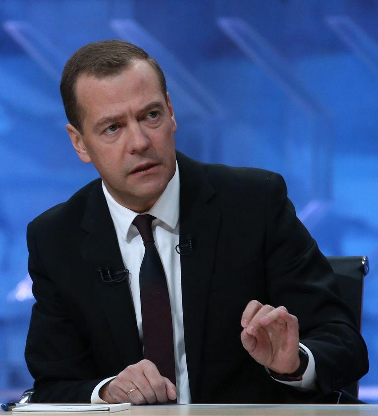 Dmitri Medvedev. Beeld anp