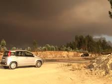 Utrechtse fotografe vlucht voor bosbranden in Portugal