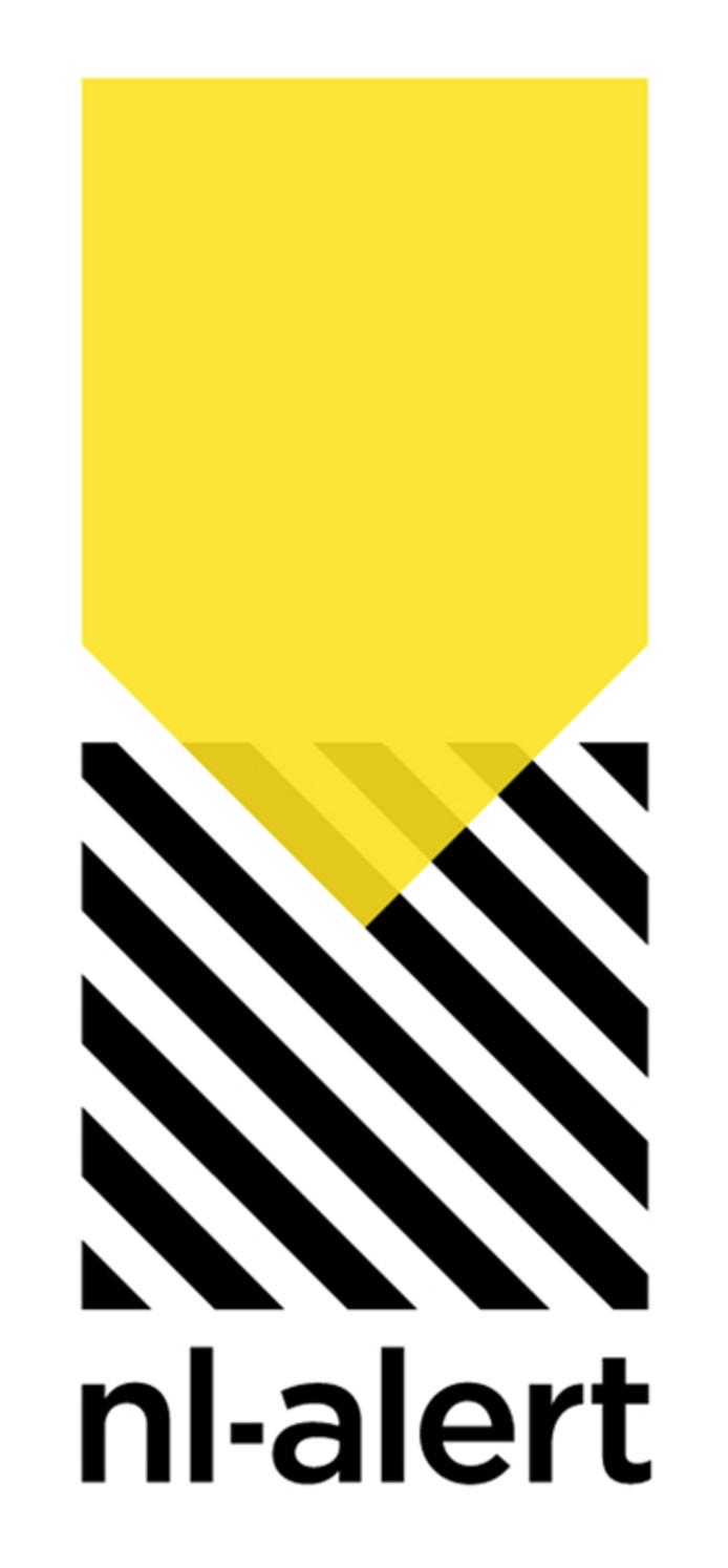 Het logo van NL Alert