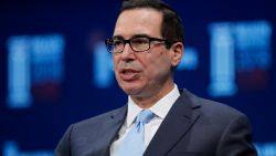 "Mnuchin: ""Amerikaanse handelsoorlog met China on hold"""