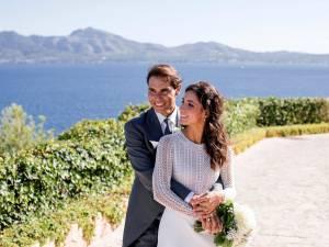 Les premières photos du mariage de Rafael Nadal et Mery Perello