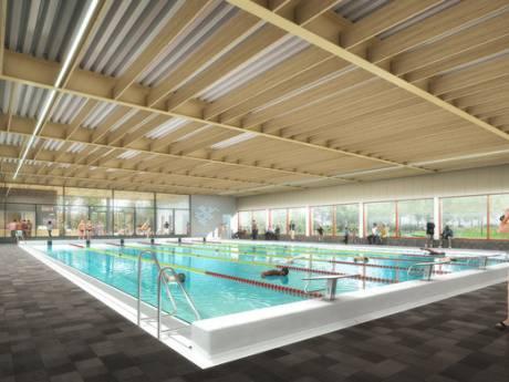 Bouw nieuw zwembad Brandenburg Bilthoven stilgelegd na scheuren in bassin