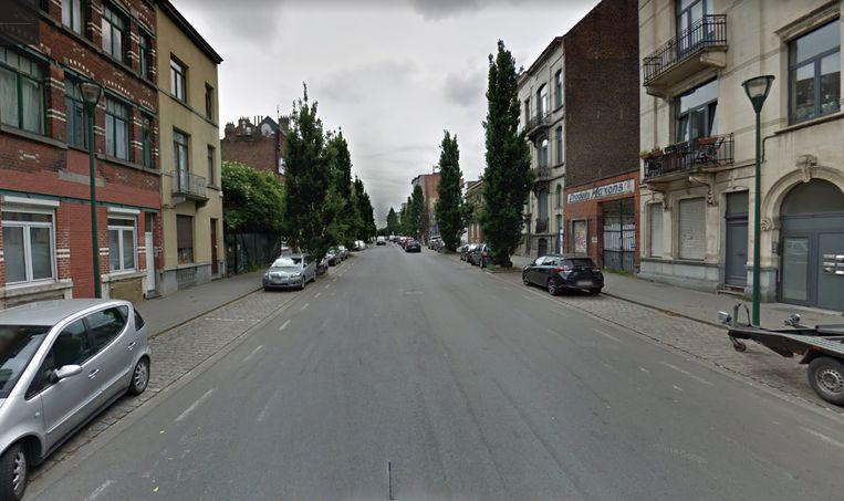 De Jean Dubrucqstraat in Sint-Jans-Molenbeek.