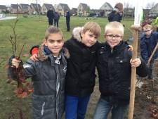Tiny Forest in Hardenberg is aangelegd: Zelfs hier zijn er kinderen die nooit in het bos komen