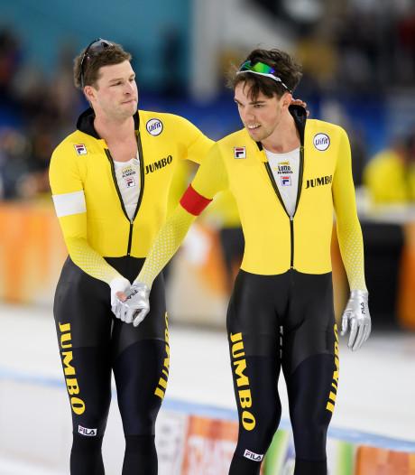 Kramer en Roest in actie bij de ploegachtervolging
