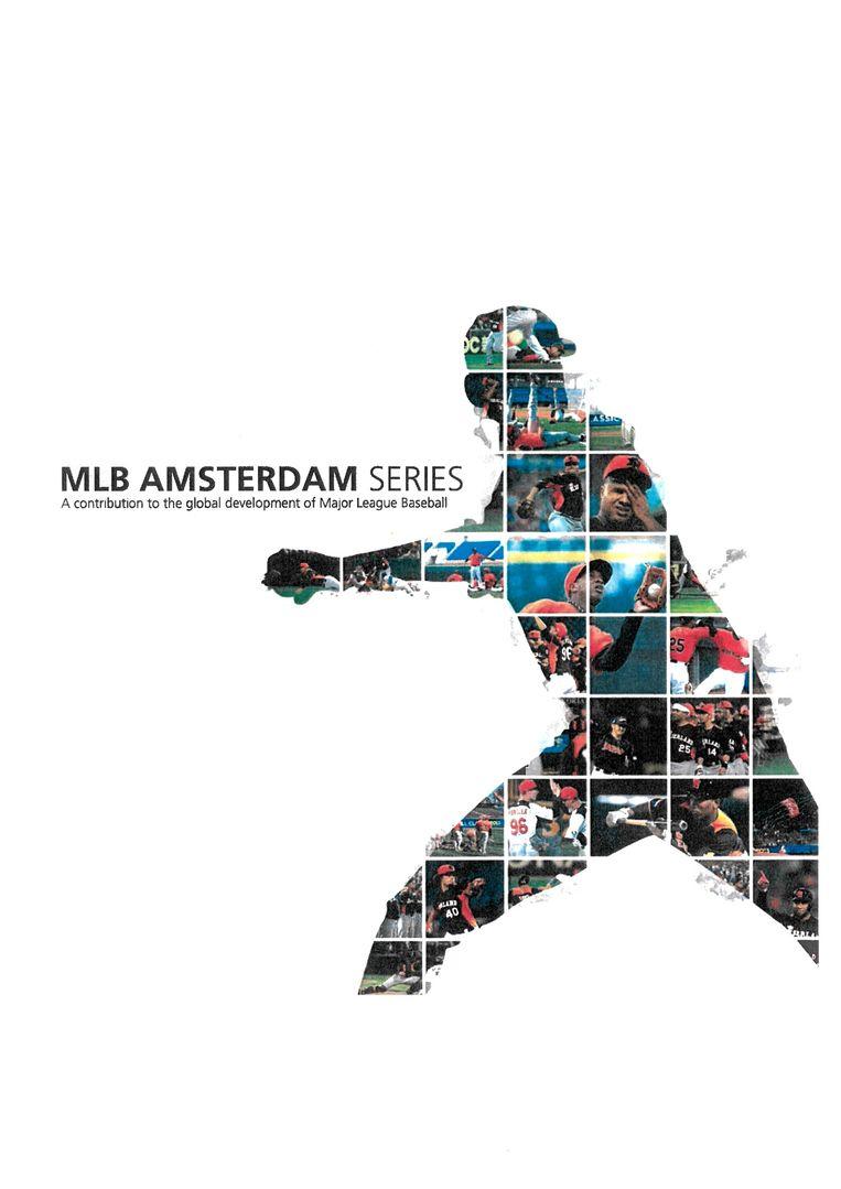 De cover van één van de bidbooks waarmee Hoofddorp de MLB wilde lokken. Beeld