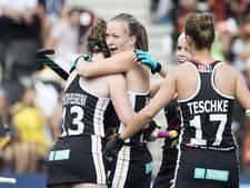 Duitse hockeysters als groepswinnaar verder