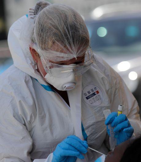 550 nouvelles contaminations en moyenne par jour en Belgique