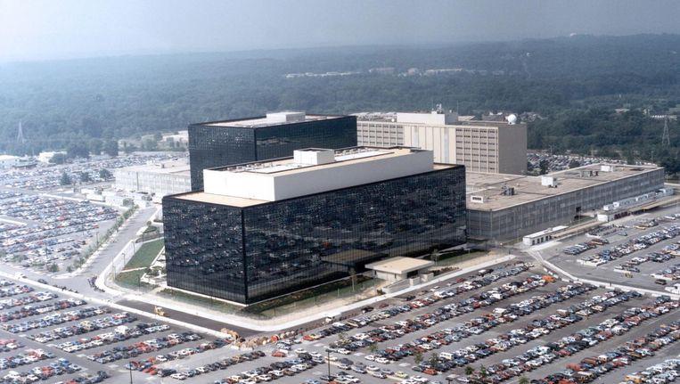 Het hoofdkantoor van de NSA in Fort Meade, Maryland Beeld epa