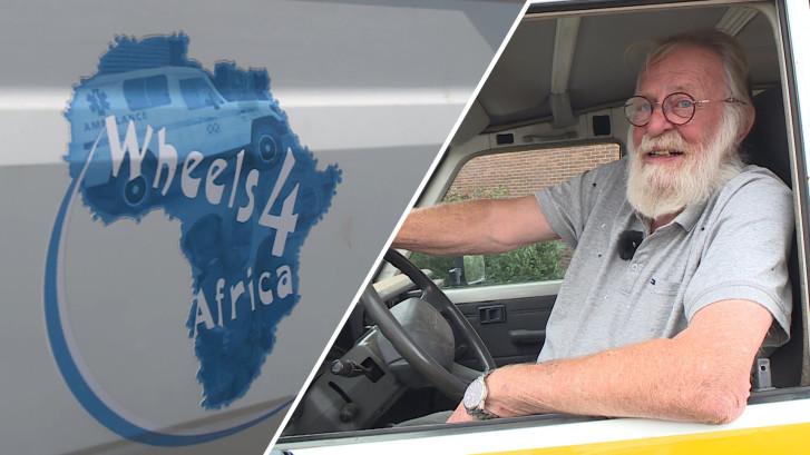 Jack stuurt ambulances naar Gambia en Senegal