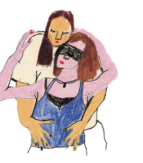 'Ze vindt het heerlijk om geblinddoekt door mij 'gedanst' te worden'