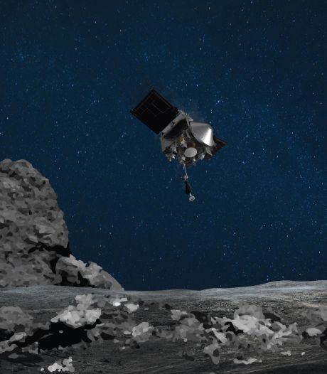 NASA-sonde bereikt planetoïde op 333 miljoen kilometer van de aarde: 'Touchdown bevestigd'