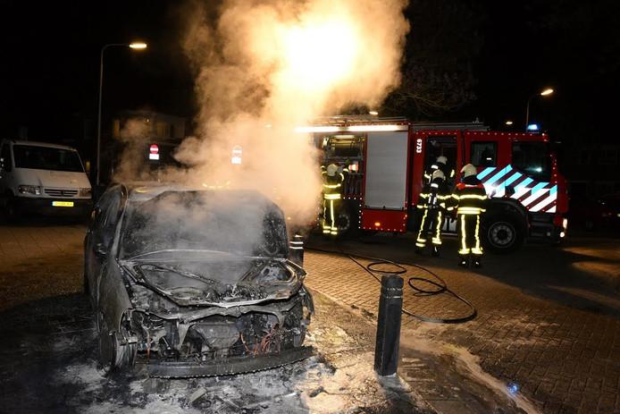 Autobrand Tilburg-Zuid