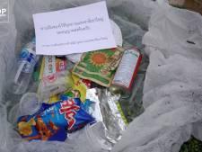 Afval laten slingeren? Dit nationale park in Thailand stuurt bezoekers hun eigen troep na