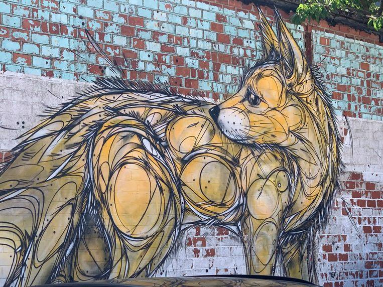 Graffiti in Vilvoorde