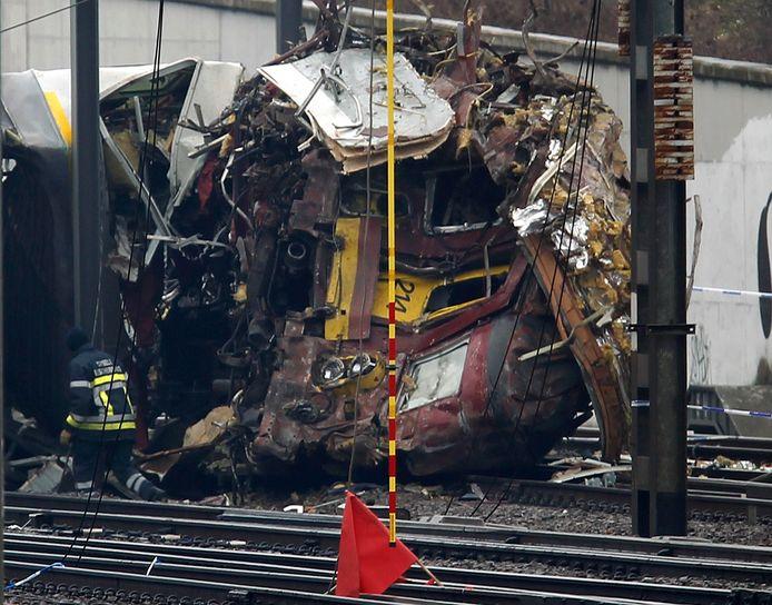 Bij de treinramp vielen 19 doden en meer dan 300 gewonden.