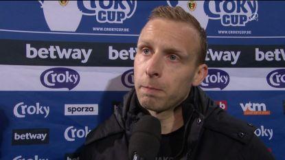"""De Laet: """"De beker meenemen naar 't Stad? In één match is álles mogelijk"""""""