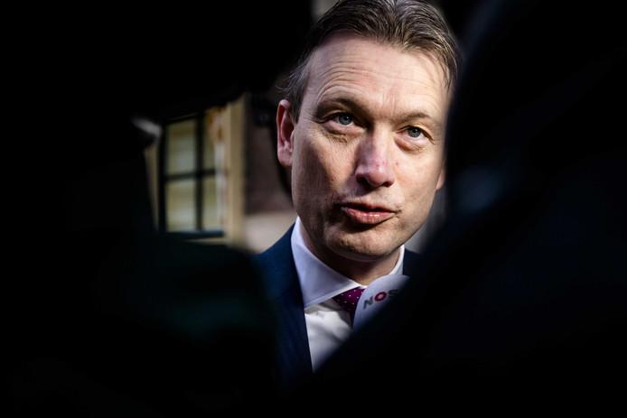 Minister Halbe Zijlstra van Buitenlandse Zaken (VVD).