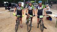 Broers scoren op mountainbikewedstrijd